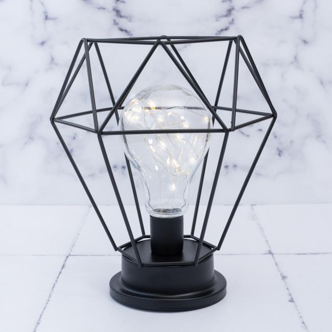 Lámpara-metálica-diamante